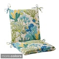 Pillow Perfect 'Splish Splash' Outdoor Squared Chair Cushion