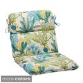 Pillow Perfect 'Splish Splash' Outdoor Rounded Chair Cushion