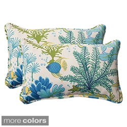 Pillow Perfect 'Splish Splash' Outdoor Throw Pillows (Set of 2)