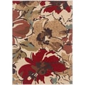 Lagoon 104570 Contemporary Beige Area Rug (7'6 x 9'10)
