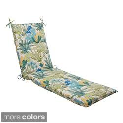 Pillow Perfect 'Splish Splash' Outdoor Chaise Lounge Cushion