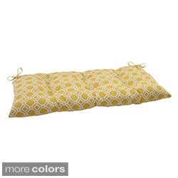 Pillow Perfect 'Rossmere' Outdoor Tufted Loveseat Cushion