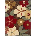 Lagoon 104520 Contemporary Multi Area Rug (7'6 x 9'10)
