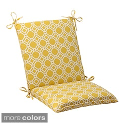 Pillow Perfect 'Rossmere' Outdoor Squared Chair Cushion