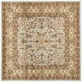 Safavieh Lyndhurst Persian Treasure Grey/ Beige Rug (7' Square)