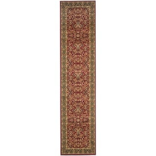 Safavieh Lyndhurst Persian Treasure Red/ Black Rug (2'3 x 10')