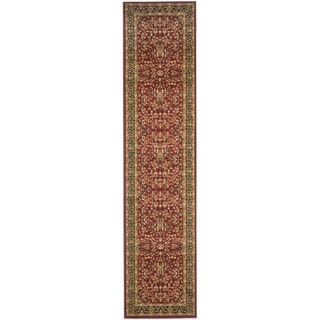 Safavieh Lyndhurst Persian Treasure Red/ Black Rug (2'3 x 22')
