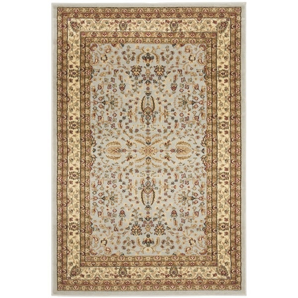 Safavieh Lyndhurst Persian Treasure Grey/ Beige Rug (4' x 6')
