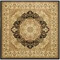 Safavieh Lyndhurst Black/ Ivory Rug (8' Square)