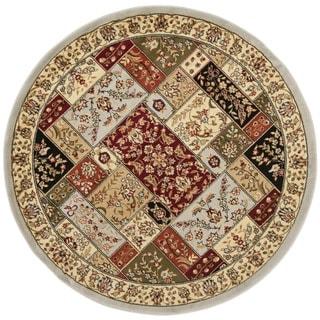 Safavieh Lyndhurst Traditional Grey/ Multi-colored Rug (5'3 Round)