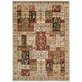 Safavieh Lyndhurst Traditional Grey/ Multi-colored Rug (6' x 9')