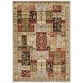 Safavieh Lyndhurst Traditional Grey/ Multi-colored Rug (8' x 11')