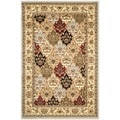 Safavieh Lyndhurst Grey/ Multi-colored Rug (4' x 6')