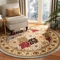 Safavieh Lyndhurst Grey/ Multi-colored Rug (6' Round)