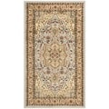"Safavieh Lyndhurst Traditional Gray/Beige Rug (2'3"" x 4')"
