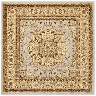 Safavieh Lyndhurst Grey/ Beige Rug (5' Square)