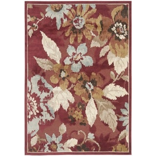 Safavieh Paradise Red Viscose Rug (8' x 11' 2)