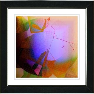 Studio Works Modern 'Appalachian Journey - Purple' Framed Print