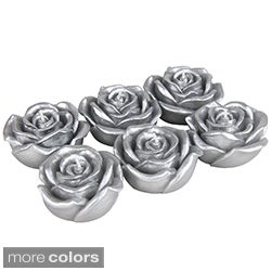 Metallic Rose Floating Candles (Case of 144)