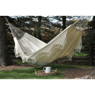 Vivere Style Double Deluxe Hammock (Natural)