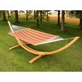 Vivere Quilted Fabric Double Hammock