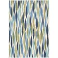 Waverly Sun & Shade Seaglass Rug (7'9 x 10'10)