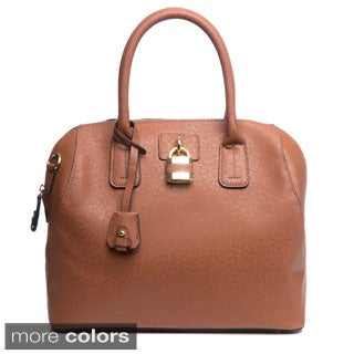 London Fog 'Lawrence' Goldtone Hardware Satchel