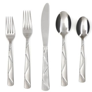 Cambridge Silversmiths Boa Sand 45-piece Flatware Set