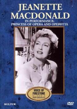 The Voice of Firestone: Jeanette MacDonald in Performance: Princess of Opera & Operetta (DVD)