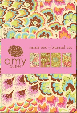 Soul Blossoms Mini Eco-journal Set (Notebook / blank book)