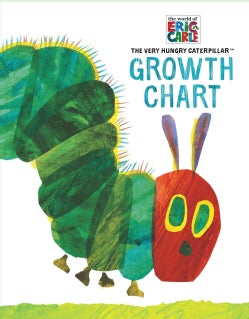 Eric Carle the Very Hungry Caterpillar Growth Chart (Notebook / blank book)