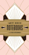 Art Deco Notebooks (Notebook / blank book)
