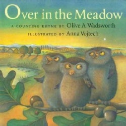 Over in the Meadow: A Counting Rhyme (Paperback)