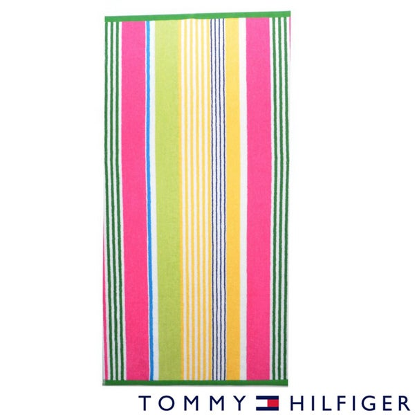 Tommy Hilfiger Summer Stripe Girl Cotton Beach Towel
