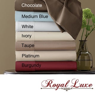 Royal Luxe Egyptian Cotton 800 Thread Count Sateen Sheet Set