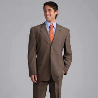 Phat Farm Men's Taupe Wool 3-button Suit Jacket Separate