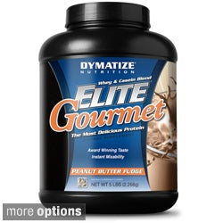 Dymatize Whey & Casein Blend Elite Gourmet Dietary Supplement (5 pounds)