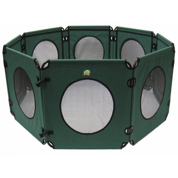 Go Pet Club 40-inch Green Play Pen for Pets