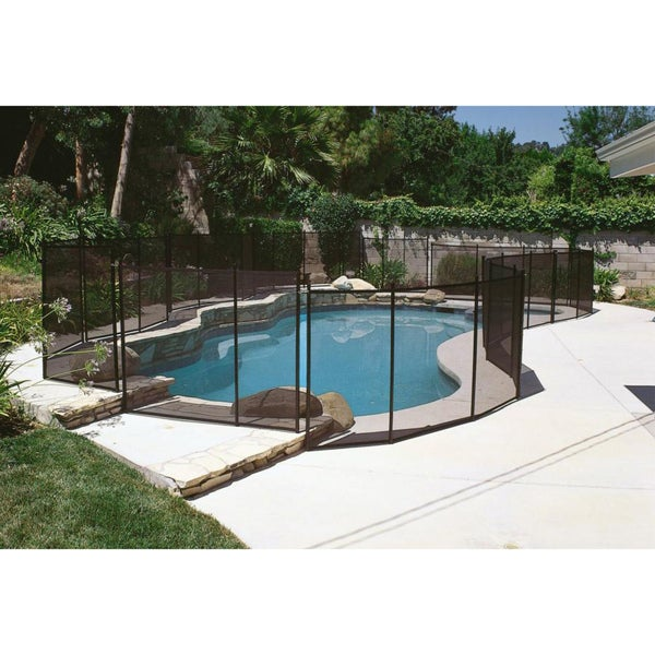 12 Foot Wide Safety Fence For In Ground Swimming Pools Overstock Shopping The Best Prices On