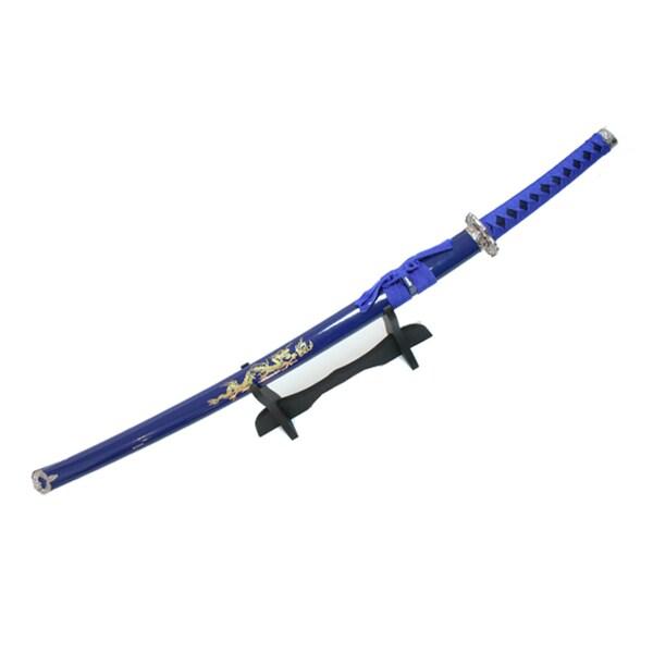 Defender 40-inch Blue Japanese Samurai Ninja Sword with Sheath