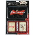 River's Edge 'Budweiser' 2-Pack Playing Cards And Dice Gift Tin