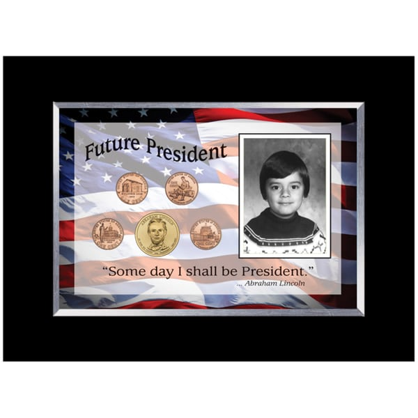 American Coin Treasures Future President 5-coin Frame