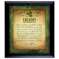 American Coin Treasures Irish Blessing with Three Pence Wall Frame