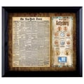 American Coin Treasures New York Times 'Battle of Gettysburg' Framed Coin and Stamp Collection