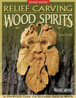 Relief Carving Wood Spirits (Paperback)