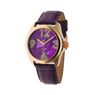 Android Men's 'Concept T40' Purple Skeleton Automatic Watch