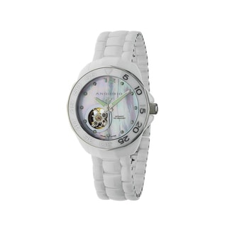 Android Men's 'Divemaster Mystic' White Skeleton Automatic Watch