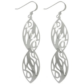 CGC Sterling Silver Abstract Tree Earrings