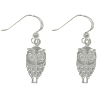 CGC Sterling Silver Owl Earrings