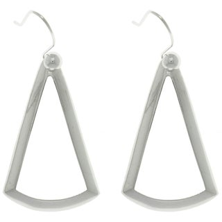 CGC Sterling Silver Triangle Earrings
